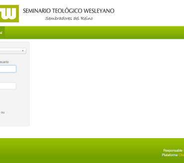 E-LEARNING – Seminario Teológico Wesleyano – Campus Virtual