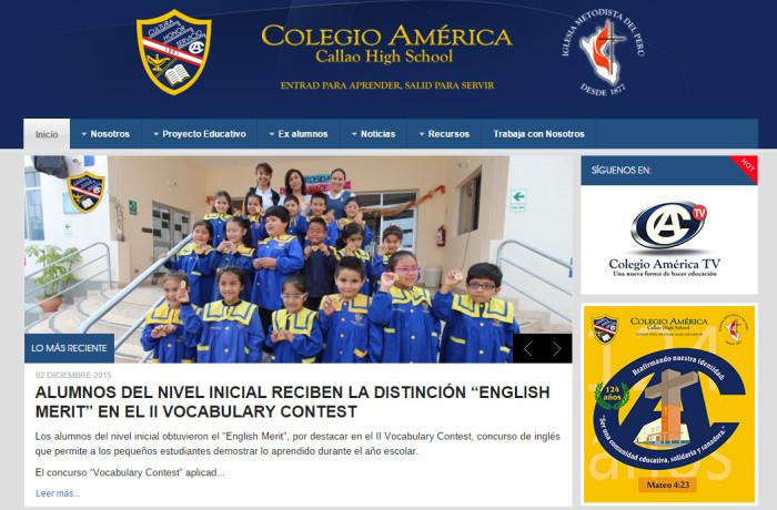 JOOMLA – Colegio América del Callao – http://www.america.edu.pe