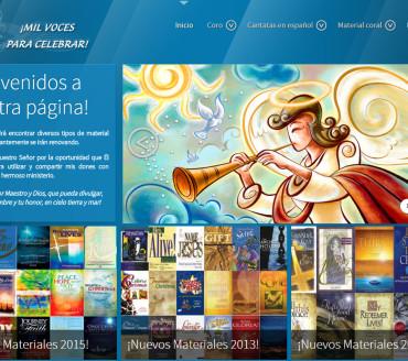 JOOMLA – Mil voces para celebrar – http://www.milvocesparacelebrar.org
