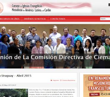 JOOMLA – CIEMAL – Consejo de Iglesia Evangélicas Metodistas de América Latina y el Caribe – http://www.ciemal.org